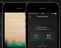 Parking app iOS