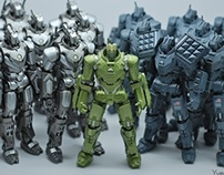 Marvel Iron Man 2 Robots