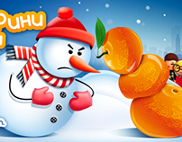 Tangerines Vs Snow