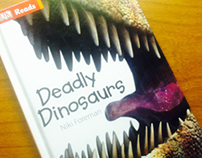 Deadly Dinosaur Book