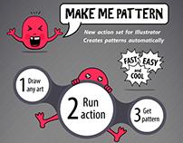 Make Me Pattern Actions Set