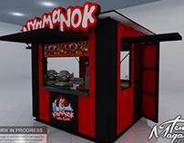 Outdoor Kiosk Design: Nyamanok