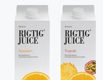 Brand & Packaging Development - Rigtig Juice, Denmark