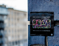 BEAT PANAMA / sticker / 2014