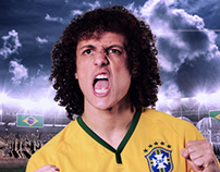 David Luiz - 2014 FIFA World Cup
