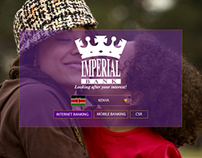 Imperial Bank creative concepts