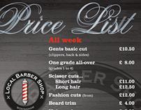 Branding & identity - barber shop