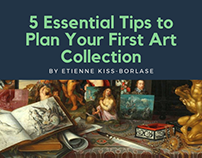 5 Essential Tips to Plan Your First Art Collection