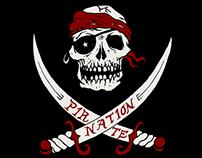 Pirate Nation Shirt Design