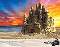 Canon EOS HD Camera Ads