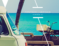 Vintage Artisan Summer 14' Lookbook