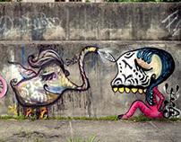 Elephant & Skull