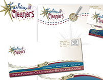 Fashion Cleaners Stationery Branding