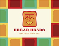 Bread Heads - Open Faced Sandwiches