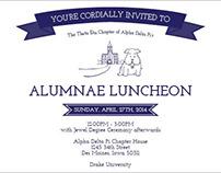Luncheon Invitations