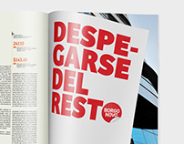 «Detach from the rest» Print Ad – Borgonovo