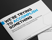 Simple Clean A5 Brochure