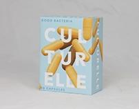 Culturelle Probiotic Rebrand