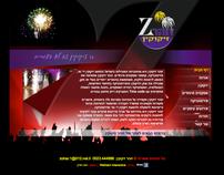 Zohar Fireworks, web design - www.zoharfireworks.com