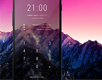 Android PIN lockscreen makeover