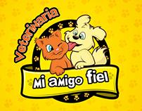 Logo Veterinaria Mi Amigo Fiel