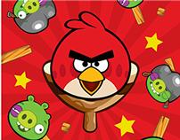 Lapiseiras Angry Birds