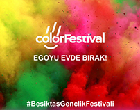 Beşiktaş Belediyesi Color Festival