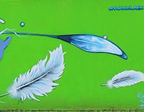 Commercial graffiti