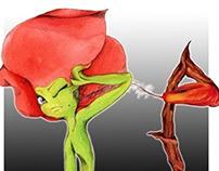 Character Design: Poppy & Flammula