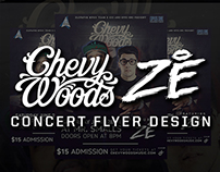 Chevy Woods & Ze Martinez Concert Flyer
