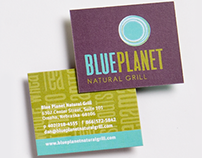 Blue Planet Natural Grill Branding & Enviroment Design