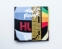 Daft Punk CD Booklet