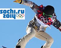 Sochi Olympics Website