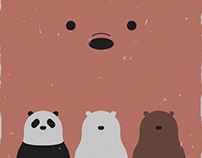 'We Bare Bears' posters