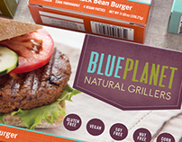 Blue Planet Natural Grillers Packaging