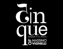 Typographic Zine | Inspired by Massimo Vignelli