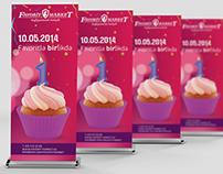 Event design concept & management for Favorit Market