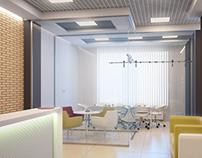 Visualization of office interior