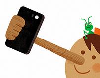 Pinocchio Selfie