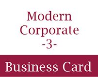 Modern Corporate Business Card 3