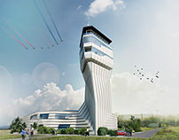 Control Tower for Cluj-Napoca Airport - Contest Entry