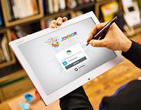 JoyBox.in Tab App UI/UX