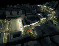 Zalău City Center Remodeling - 3rd Prize