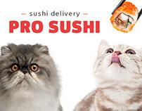 PRO SUSHI website