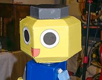 Papercraft Servbot