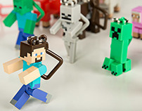 Minecraft Blind Box Hangers