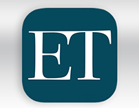 The Economic Times iPhone App Redesign