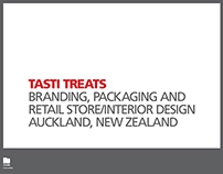 Tasti Treats - Branding and Retail Store Design