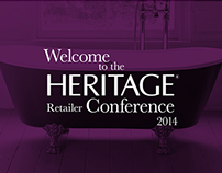Heritage Bathrooms presentation deck