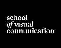The competitive work for School of Visual Communication